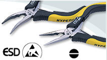 ESD Mini Long (Bent) Nose Pliers