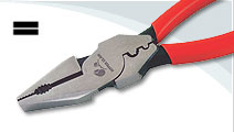 Combination Pliers (Crimping) high leverage