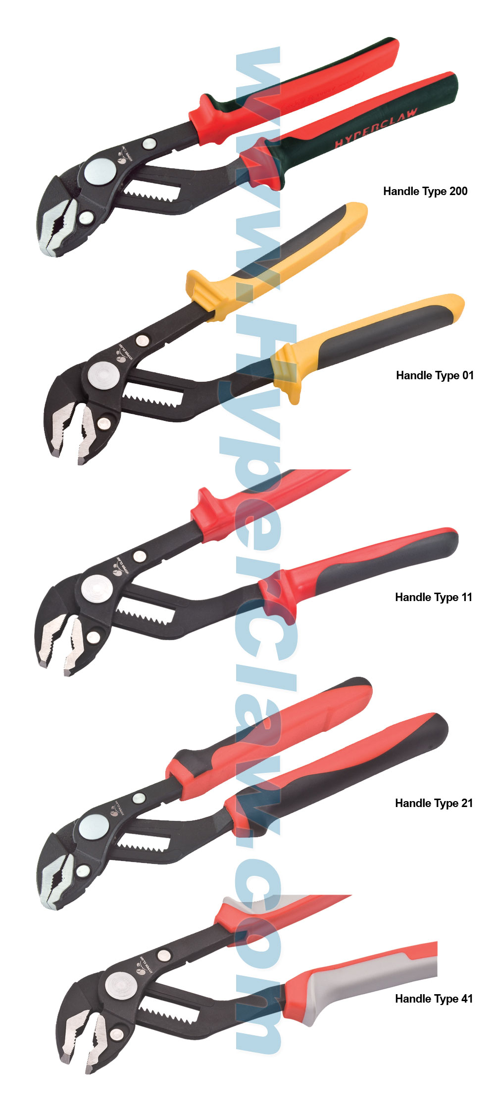 Two Component Handles Pliers from plier manufacturer ... |Types Of Pliers